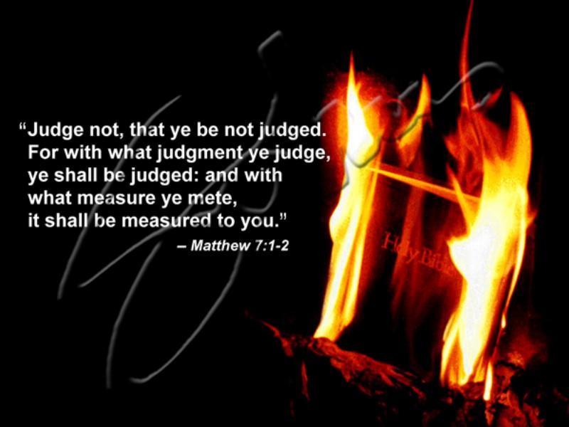 Judge Not - 1996